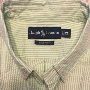 Ralph Lauren Seersucker Shirt
